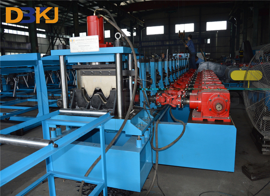 Hydraulic 2 Waves Highway Guardrail Roll Forming Machine